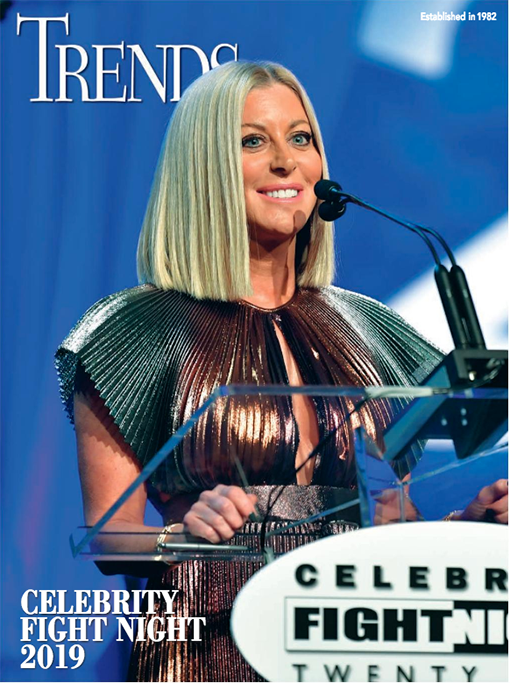 Renee Parsons honored at Celebrity Fight Night XXV